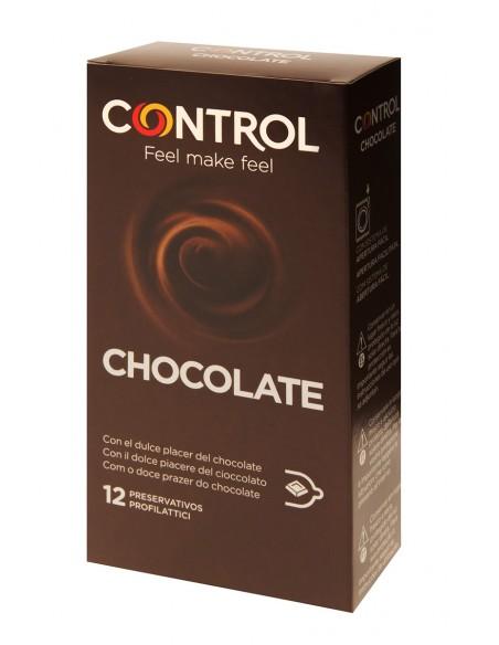 Preservativos Chocolate Control 12 unidades