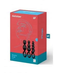 Satisfyer Plugs black (set of 3)