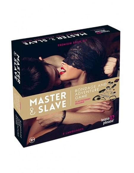Master & Slave Juego erótico Bondage Beige