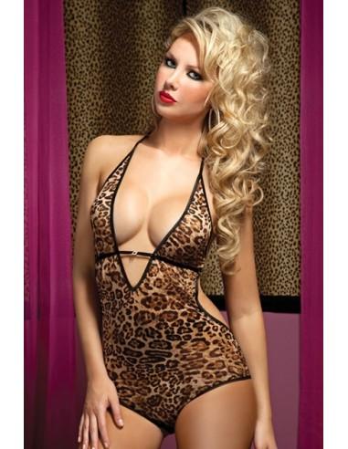 Hear Me Roar Body Leopard Talla Única