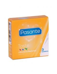 Pasante sabores Preservativos 3 unidades