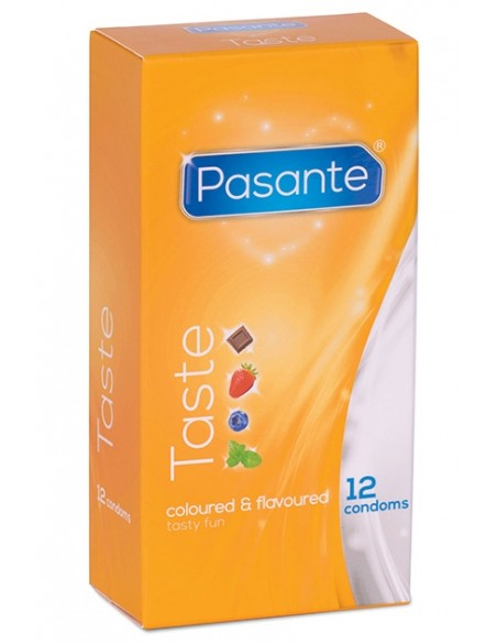 Pasante sabores Preservativos 12 unidades