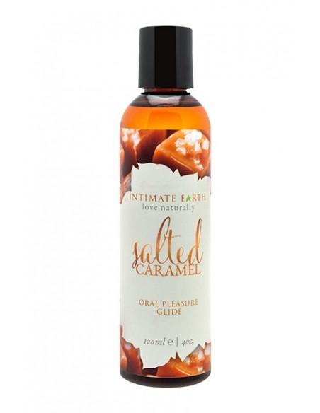 Sea Salt Caramel Flav Glide 120 ml Lubricante natural