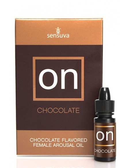 On Chocolate 5ml Large Box Aceite sexual