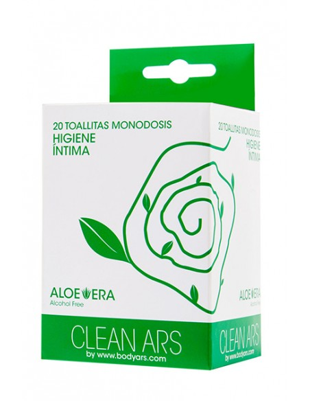 Toallitas húmedas Clean Ars Caja 20 unidades