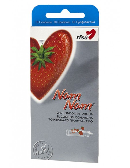 Preservativo aroma fresa RFSU 10 unidades