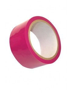 Cinta rosa de PVC Sportsheets
