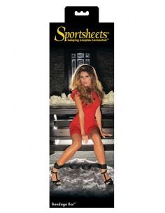Barra con esposas Sportsheets