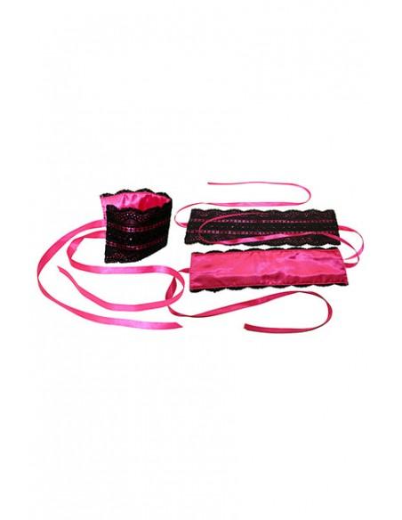 Kit erótico rosa Sportsheets