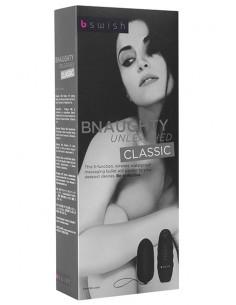 Bnaughty Classic Unleashed Black bala vibradora