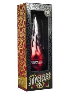 Vibrador mini Joycicles Sparkle Red to Silver