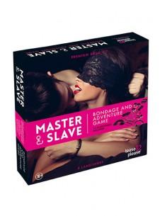 Master & Slave Juego erótico Bondage Magenta