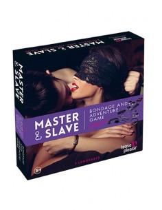 Master & Slave Juego erótico Bondage Púrpura