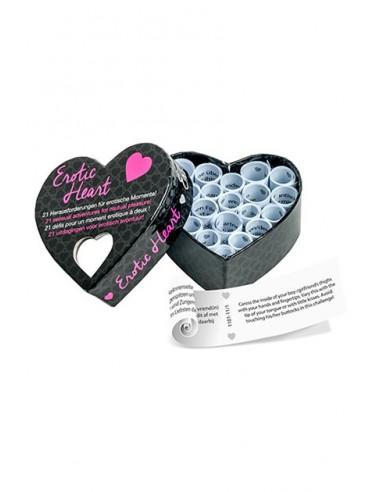 Corazón erótico mini Juego de mesa erótico