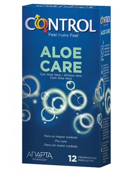 Preservativos con aloe vera Control 12 unidades