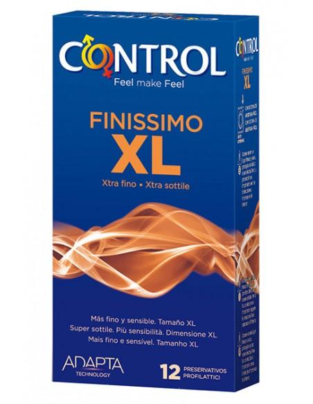 Preservativos Control Finissimo XXL 12 unidades