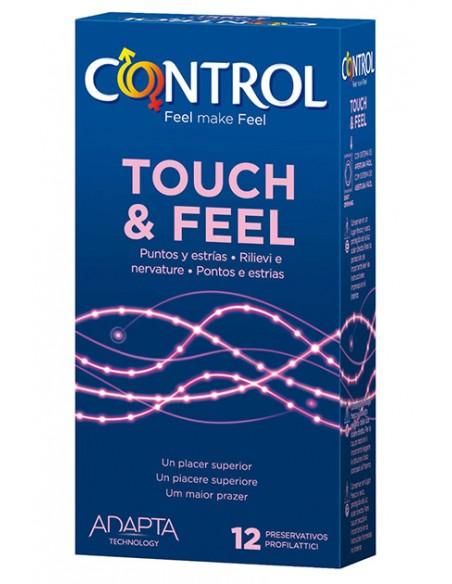 Preservativos Control Touch&Feel 12 unidades