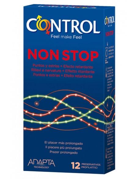 Preservativos Non Stop Control 12 unidades