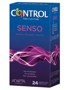 Preservativos Senso Control 24
