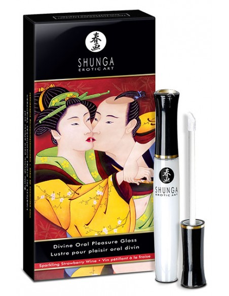 Divine Oral Pleasure Shunga Brillo de labios