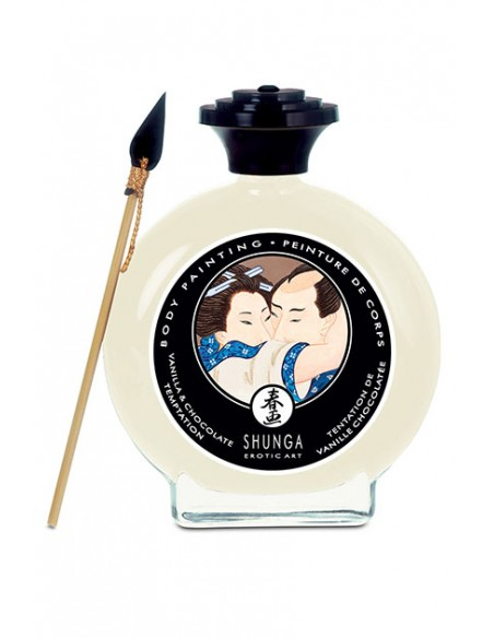 Body Paint Chocolate Blanco Shunga