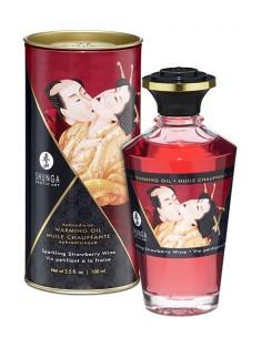 Shunga Aceite Afrodisiaco Sparkling Strawberry Wine