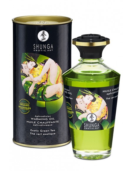 Shunga Aceite Afrodisíaco Exiotic Green Tea