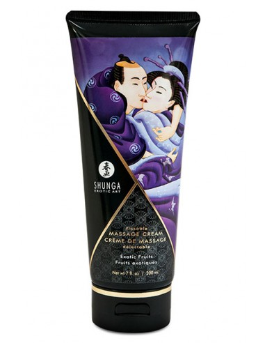 Shunga Massage Cream Exotic Fruits Crema