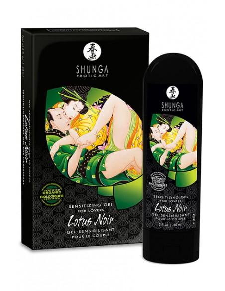 Lotus Noir gel estimulante Shunga