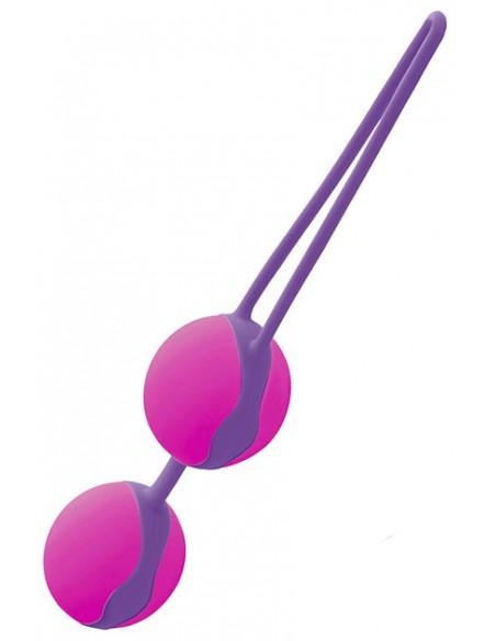 Bolas chinas Liebe Púrpura y Fucsia