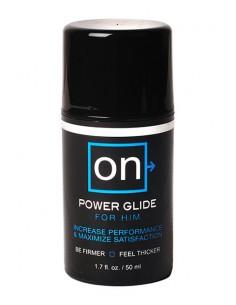 On™ Power Glide for Him crema estimuladora