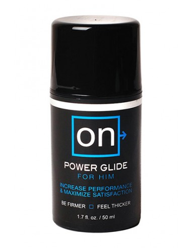 On™ Power Glide for Him crema estimuladora