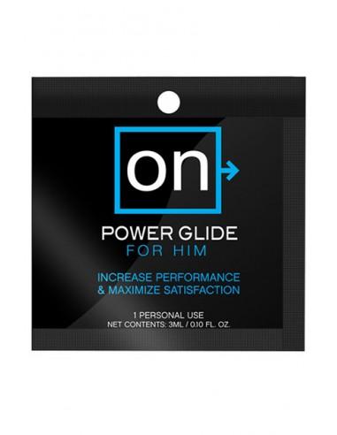 On™ Power Glide for Him Single use Crema estimuladora