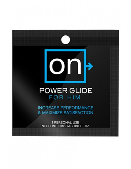 On™ Power Glide for Him Single use Crema estimuladora