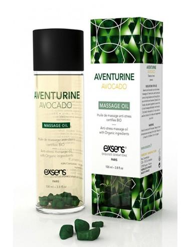 Anti-Stress Aventurine Avocado Oil Aceite erótico