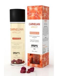 Invigorating Carnelian Apricot Massage Aceite erótico