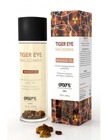 Protective Tiger Eye Macadamia Massage Oil Aceite erótico