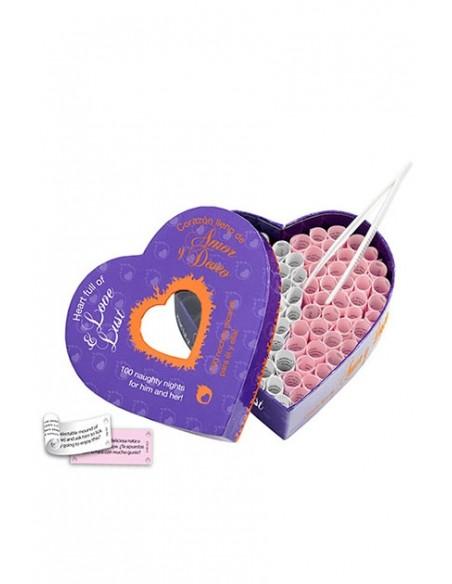 Corazón Love & Lust Juego erótico