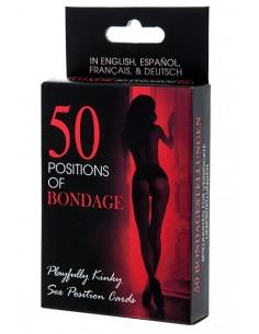 50 Positions of Bondage Cartas eróticas