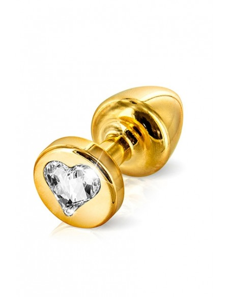 Anni Form Heart Gold T2 Plug anal