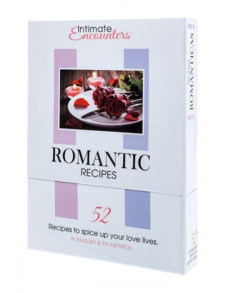 Intimate Romantic Recipes Recetas sensuales