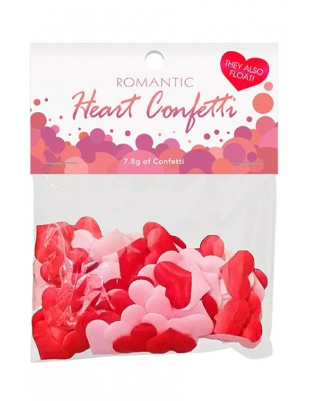 Romantic Heart Confeti de corazones