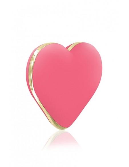 Vibrador externo Heart Coral Rose de Rianne S