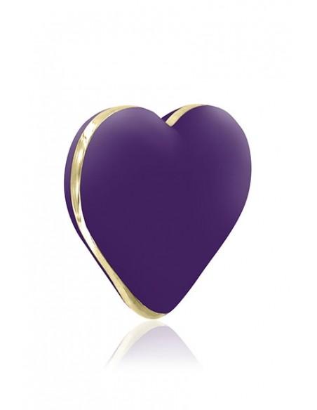 Vibrador externo Heart Deep Purple de Rianne S