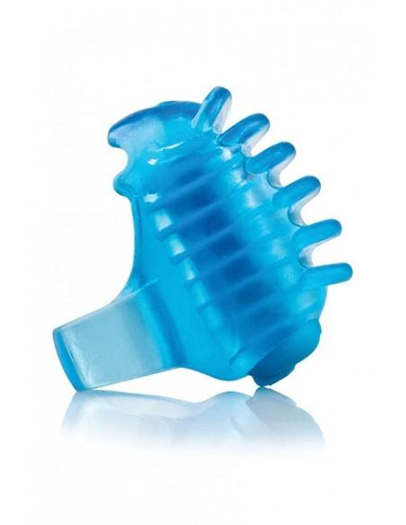 Vibrador mini para dedo Fingo Tips Azul