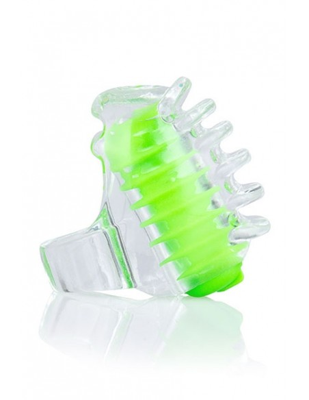 Vibrador mini para dedo FingO Tip Verde