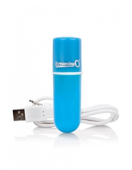 Bala vibradora Rechargeable Bullet Vibe Azul