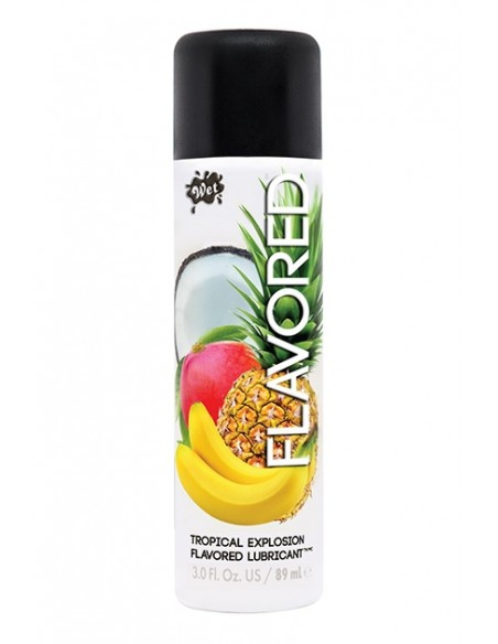 Lubricante de sabor Wet Flavored Tropical Explosion 89ml