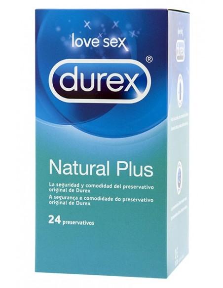 Preservativos Natural Plus Durex 24 unidades