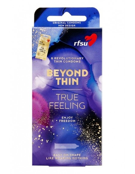 Preservativos sensitivos RFSU Beyond Thin 8 Unidades